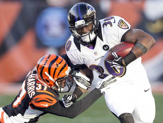 Is Ravens' Rookie Bernard Pierce The Next Adrian Peterson?
