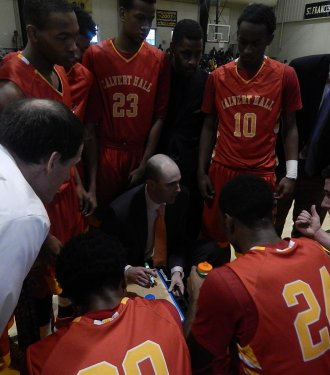 Calvert Hall Brings Down DC's Top-Ranked Team 61-60